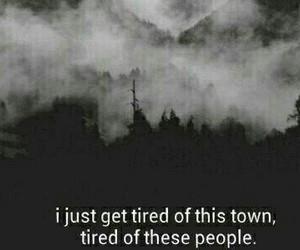 tired, sad, and people image
