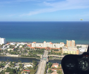 beach, Flying, and south beach image