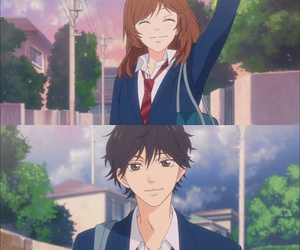 anime, ao haru ride, and kou image
