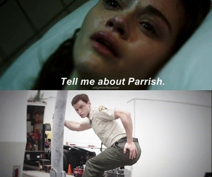 teen wolf, lydia martin, and parrish image
