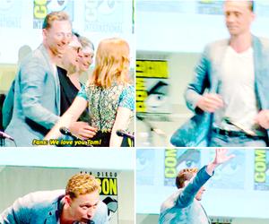 I Love You, tom hiddleston, and san diego comic-con image