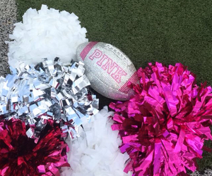 cheer, pink, and back to campus image