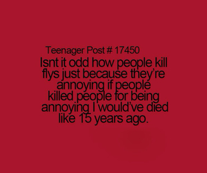 annoying, funny, and teenager post image