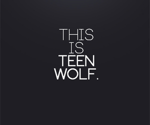 teenwolf image
