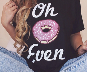 donuts, hair, and cute image