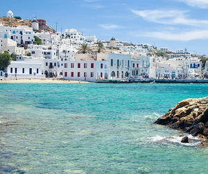 summer, beach, and Greece image