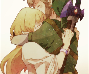 zelda, link, and the legend of zelda image