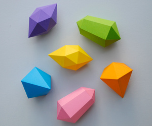 papergems+instructions and colorful crafts image