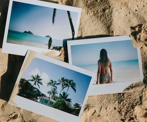 beach, lovely, and girly image