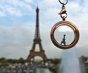 paris, eiffel tower, and place image