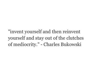 charles bukowski, invent, and out image