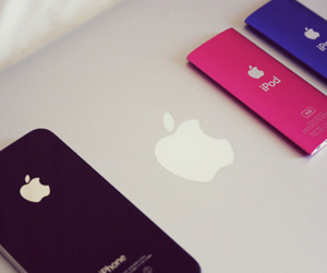 apple, ipod, and iphone image