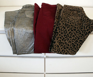 jeans, leopard, and silver image
