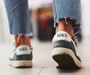 nike, style, and jeans image