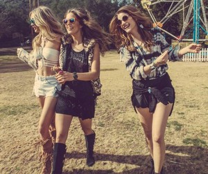 festival, barbara palvin, and friends image