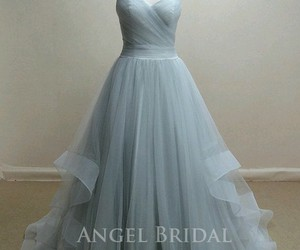 dress, blue, and Prom image