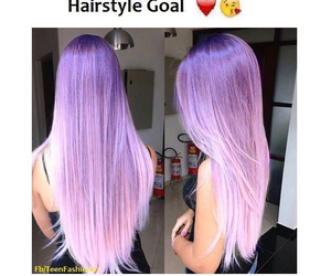 hair, purple, and ombre image