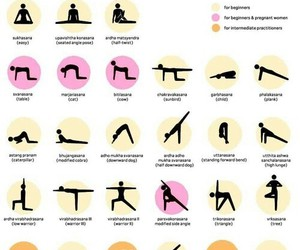 yoga, fitness, and exercise image