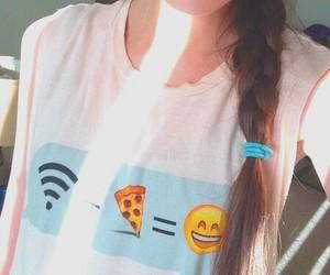 hair and emoji image