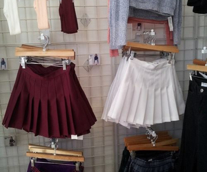 skirt, grunge, and clothes image