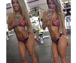 abs, motivation, and nikki image