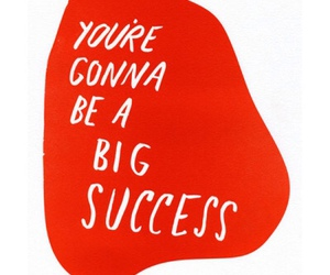 quotes, success, and red image