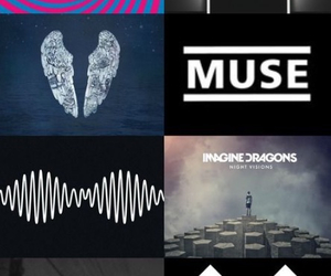 arctic monkeys, muse, and music image
