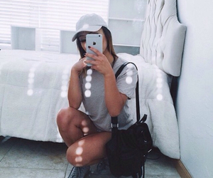 backpack, beautiful, and clothes image