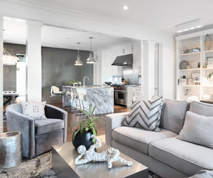 apartment, design, and grey image