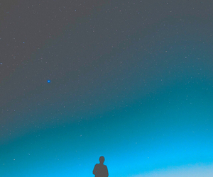 sky, stars, and blue image