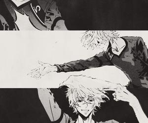 karneval, black and white, and manga image