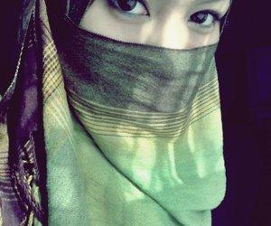 beautiful, eyes, and muslim image