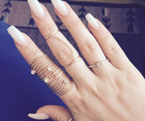 fashion, gold, and hand image
