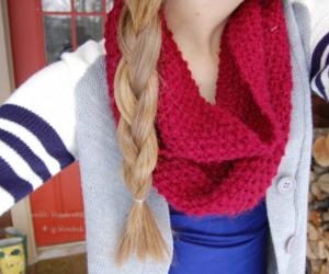 blonde and braid image