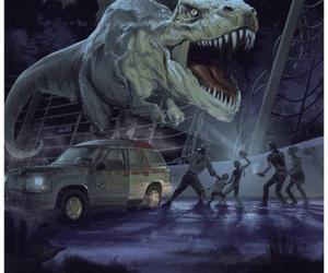 Jurassic Park and jurassic world image
