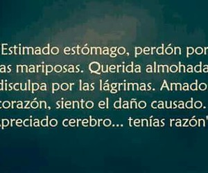 frases, desamor, and corazon image