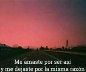 desamor, espanol, and sad image
