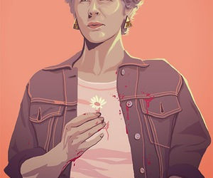 carol and the walking dead image