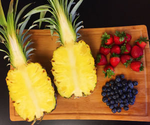 delicious and pineapple image