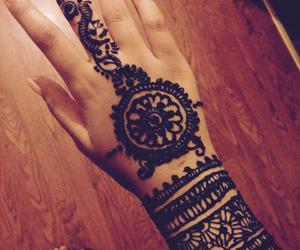 design, mehndi, and nails image