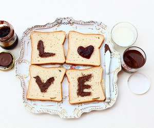 love and food image