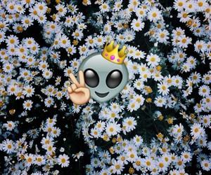 alien and emoji image
