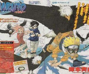 anime, team 7, and manga image