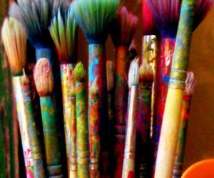 art, colors, and Brushes image