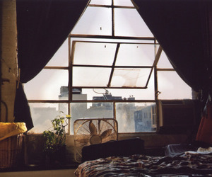 window, room, and vintage image