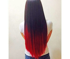 hair, colors, and red image
