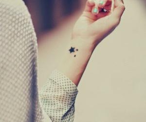 depress, fire, and tatoos image
