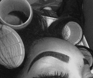 eyebrows, lashes, and rollers image