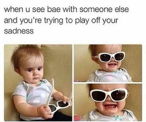 bae, funny, and baby image