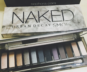 cosmetics, smokey eye, and eye shadow image
